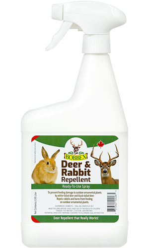 Bobbex Ready-to-Use Deer and Rabbit Repellent: 0.95 Litre