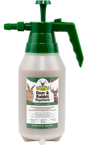 Bobbex Ready To Use Deer and Rabbit Repellent: 1.42 Litre