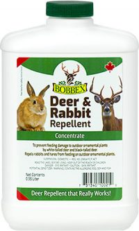 Bobbex Deer and Rabbit Repellent: 0.95 Litre Concentrate